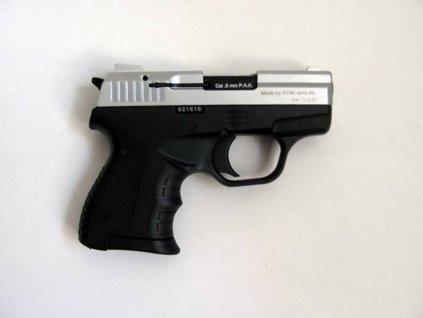 Plynová pistole Atak Zoraki 906 9 mm P.A.K. - mat.chrom