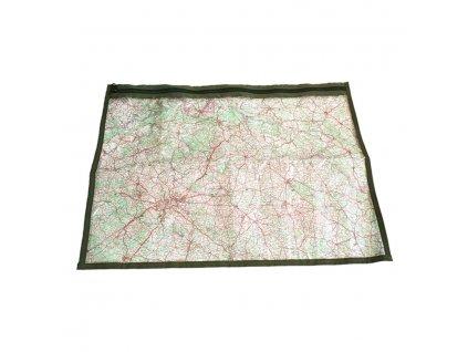 Folie k obalu na mapu k MNS-2000 ZELENÁ
