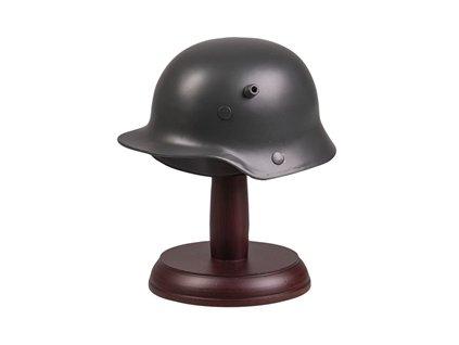 Helma německá M16 miniatura se stojánkem