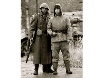 Kalhoty RUSKÉ M43 vatové original