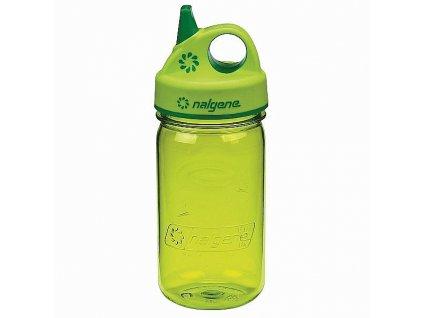 15671 lahev nalgene grip n gulp 300 ml zelena