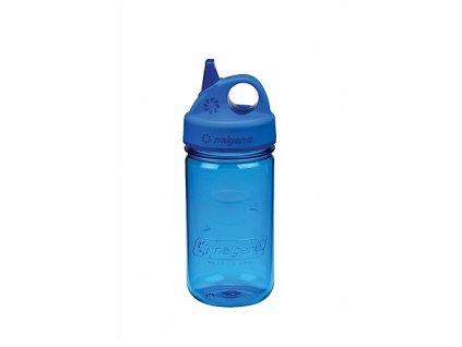 15674 lahev nalgene grip n gulp 300 ml modra