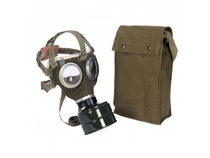 Maska plynová maďarská M75  s filtrem a obalem