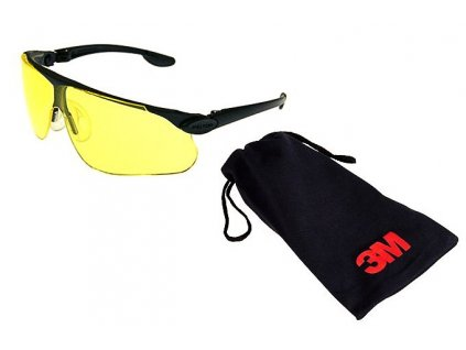 Střelecké brýle 3M Peltor Maxim Ballistic žluté + obal