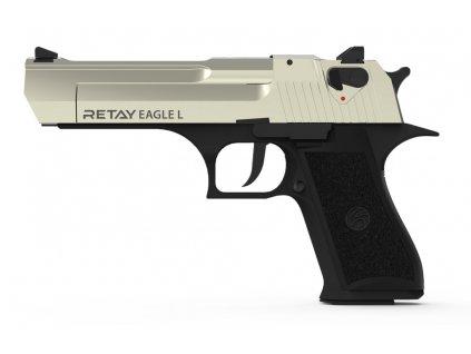 Plynová pistole Retay Eagle L 9 mm P.A.K. - satén