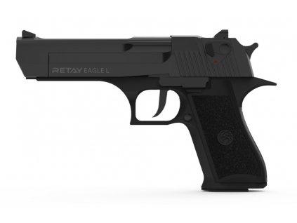 Plynová pistole Retay Eagle L 9 mm P.A.K. - černá