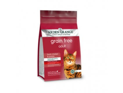 Adult Cat with fresh Chicken & Potato grain free