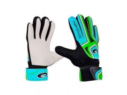 Spokey CATCH II brankářské rukavice zelené roz.5
