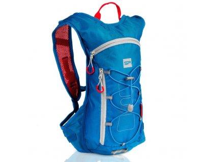 Spokey FUJI Sportovní, cyklistický a běžecký batoh 5 l modrý