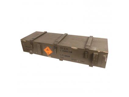 Bedna dřevěná od raket 122-E použitá