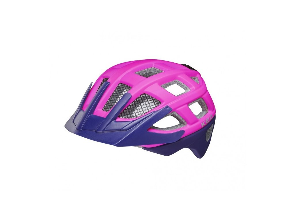 3944 ked kailu m 53 59cm pink purple matt ked kailu m 53 59cm ruzova fialova