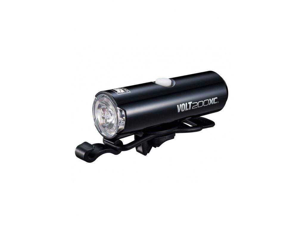 Světlo Cateye HL-EL060RC volt 200 XC černá