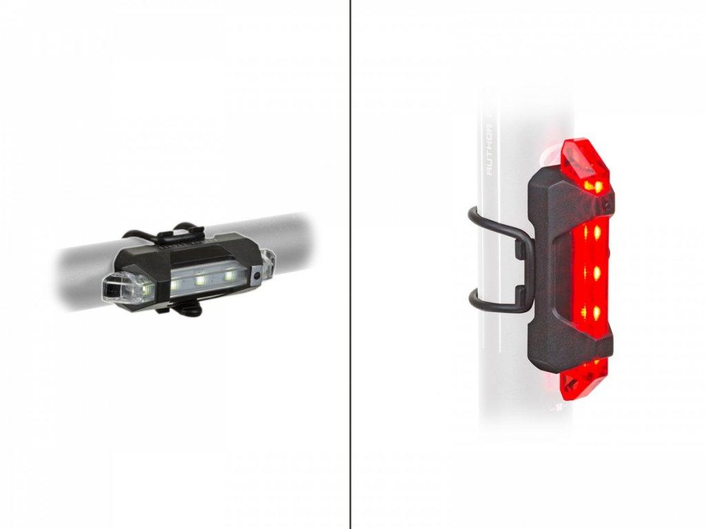 Světlo sada A-Stake Mini USB černá