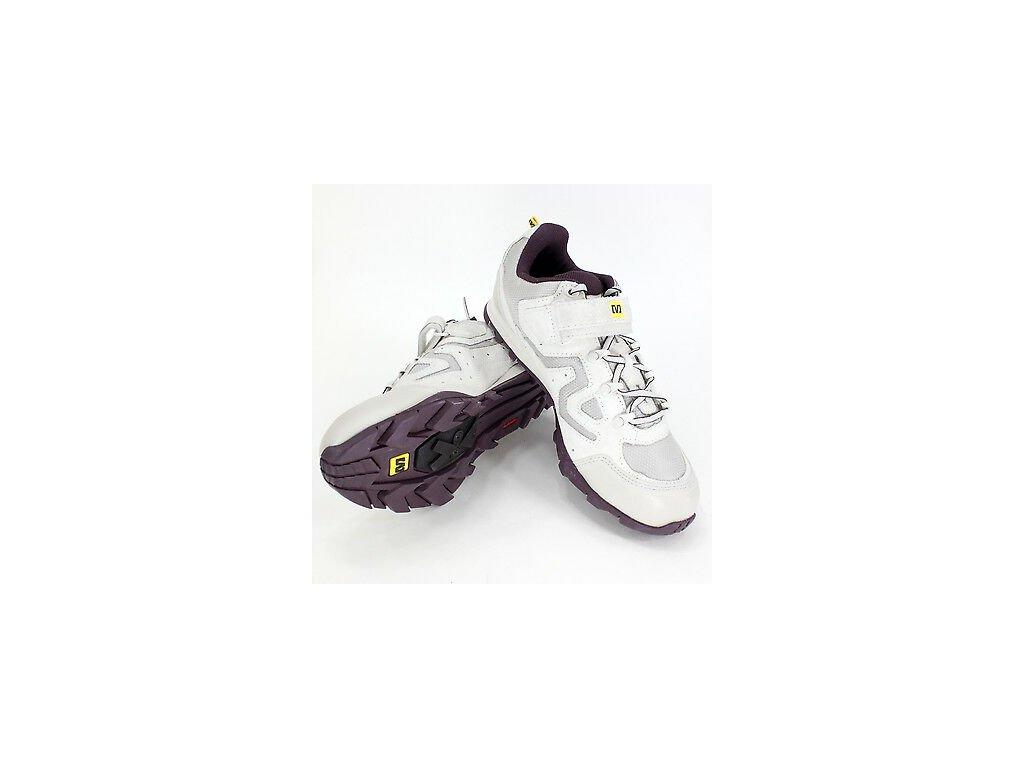 Mavic Zoya Cycling Shoe Womens White Plum MTB