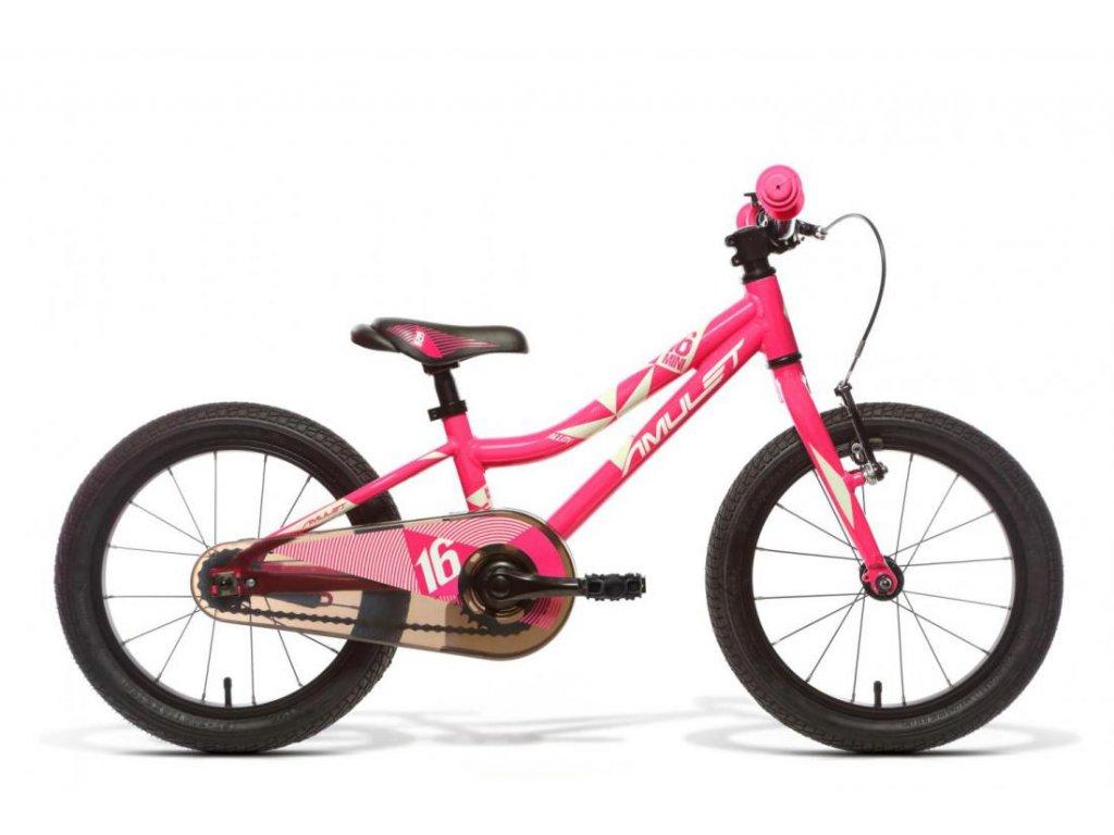 AMULET 16 Fun, pink shiny/white shiny