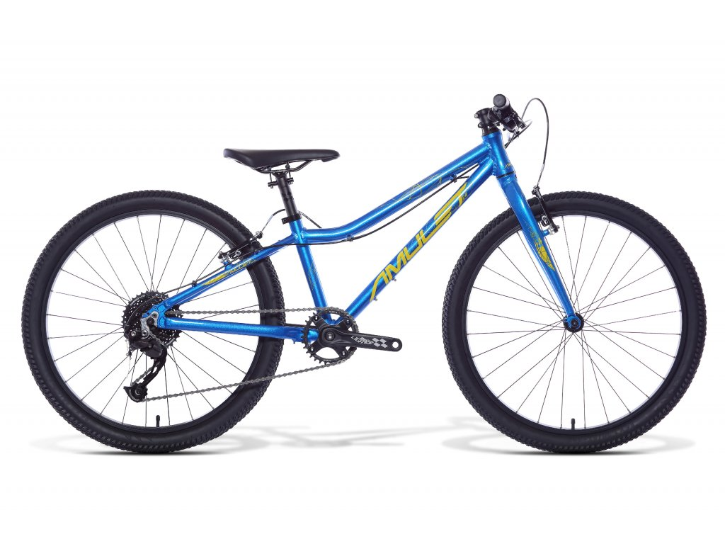AMULET 24 Tomcat, blue metalic/bamboo shiny