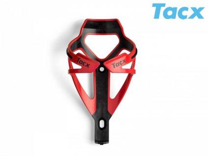 Košík TACX Deva červená/karbon
