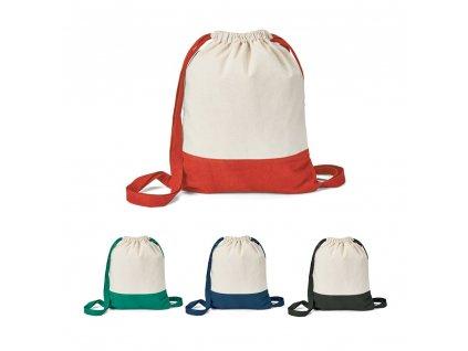 ROMFORD. 100% bavlněná stahovací taška