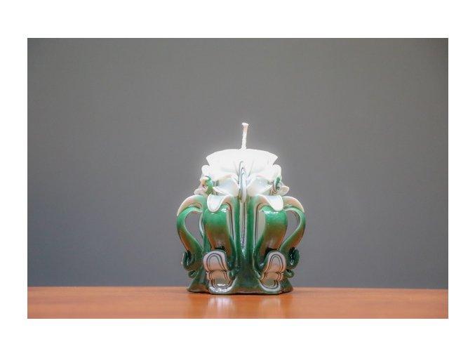 batch 10cm zelená řez 2