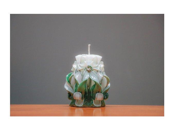 batch 10cm zelená řez 8