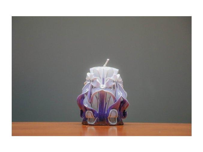 batch 10cm fialová řez 8
