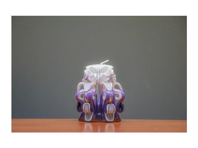 batch 10cm fialová řez 3