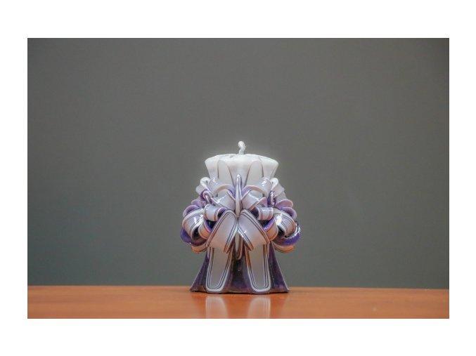 batch 10cm fialová řez 4