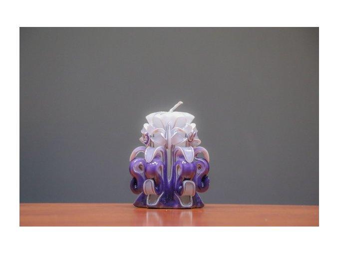 batch 10cm fialová řez 6