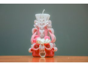batch 15cm svíce s mimi růžová