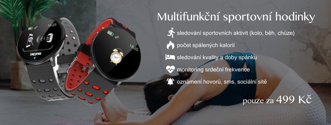 Multifunkční sportovní hodinky