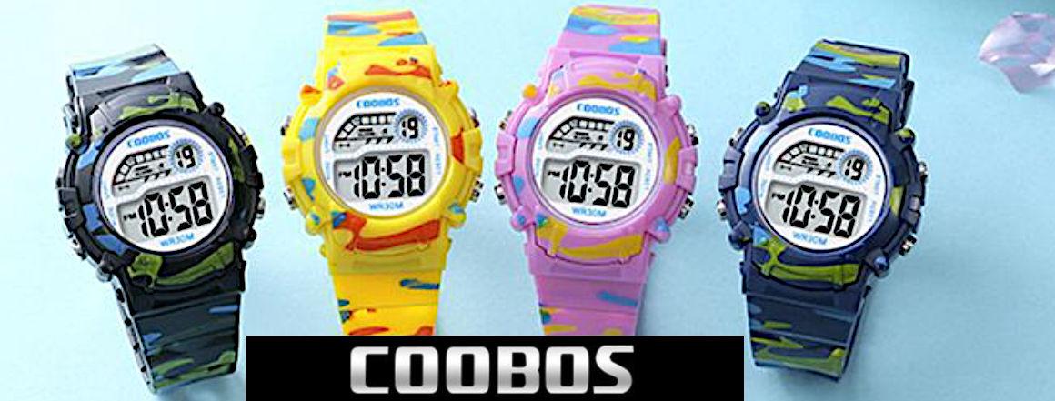 Dětské digitální hodinky pro děti COOBOS TOP 1