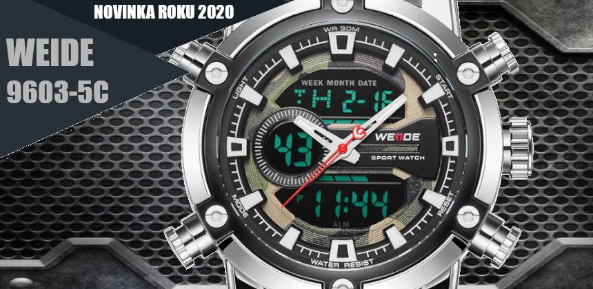 Pánské hodinky WEIDE 9603 5C