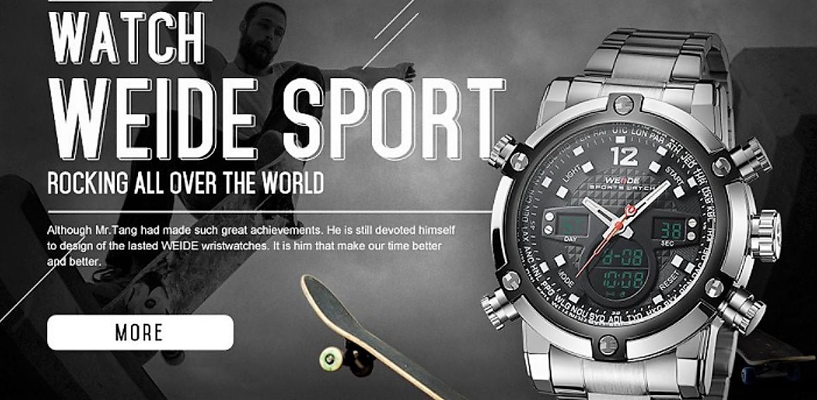 Značkové sportovní hodinky Weide 5205