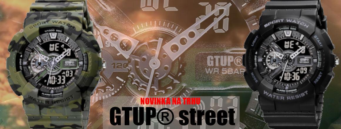 Sportovní army hodinky GTUP 1200