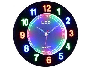 LED nástěnné hodiny