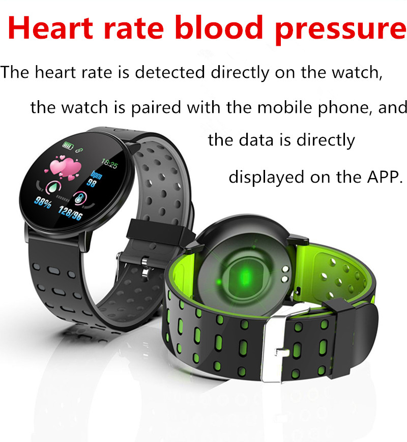 116PLUS heart rate blood