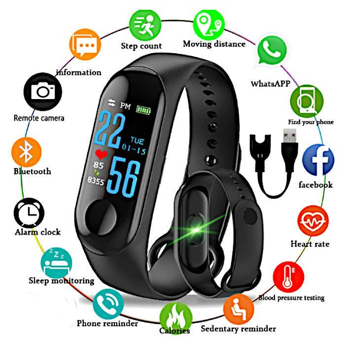 chytry-naramek-smart-bracelet-m-3-nove