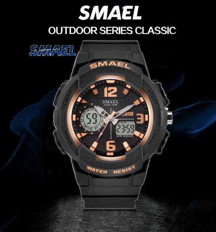 digitalni-hodinky-s-dvojim-casem-smael-1645-zlate-banner