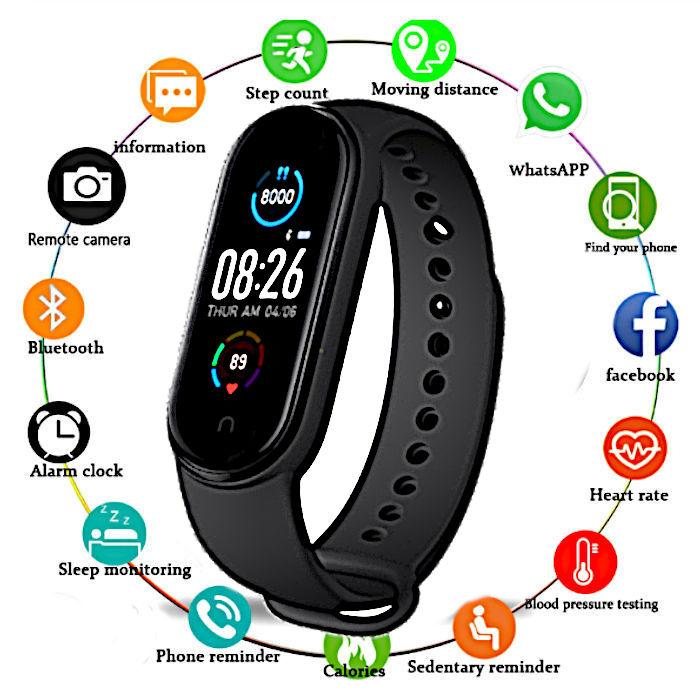 fitness-naramek-m5-cerny-chytre-hodinky_1