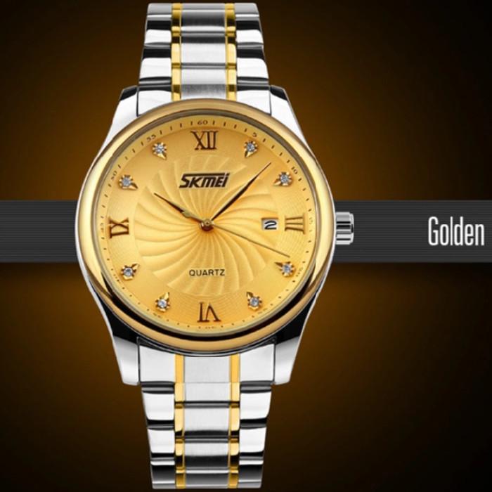 panske-hodinky-skmei-9101-zlate