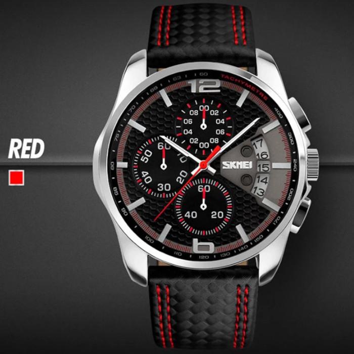 panske-hodinky-skmei-9106-cervene