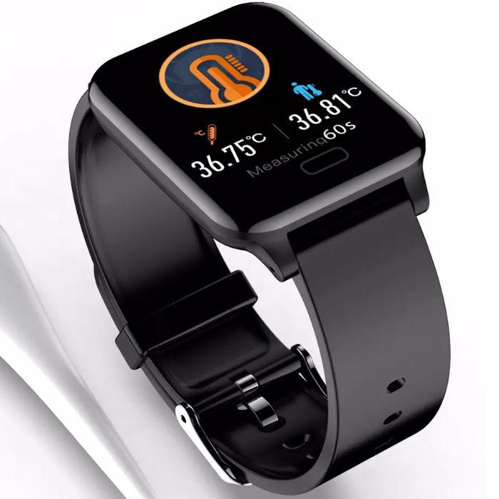 smart-hodinky-s-merenim-telesne-teploty-bezkontaktni-teplomer