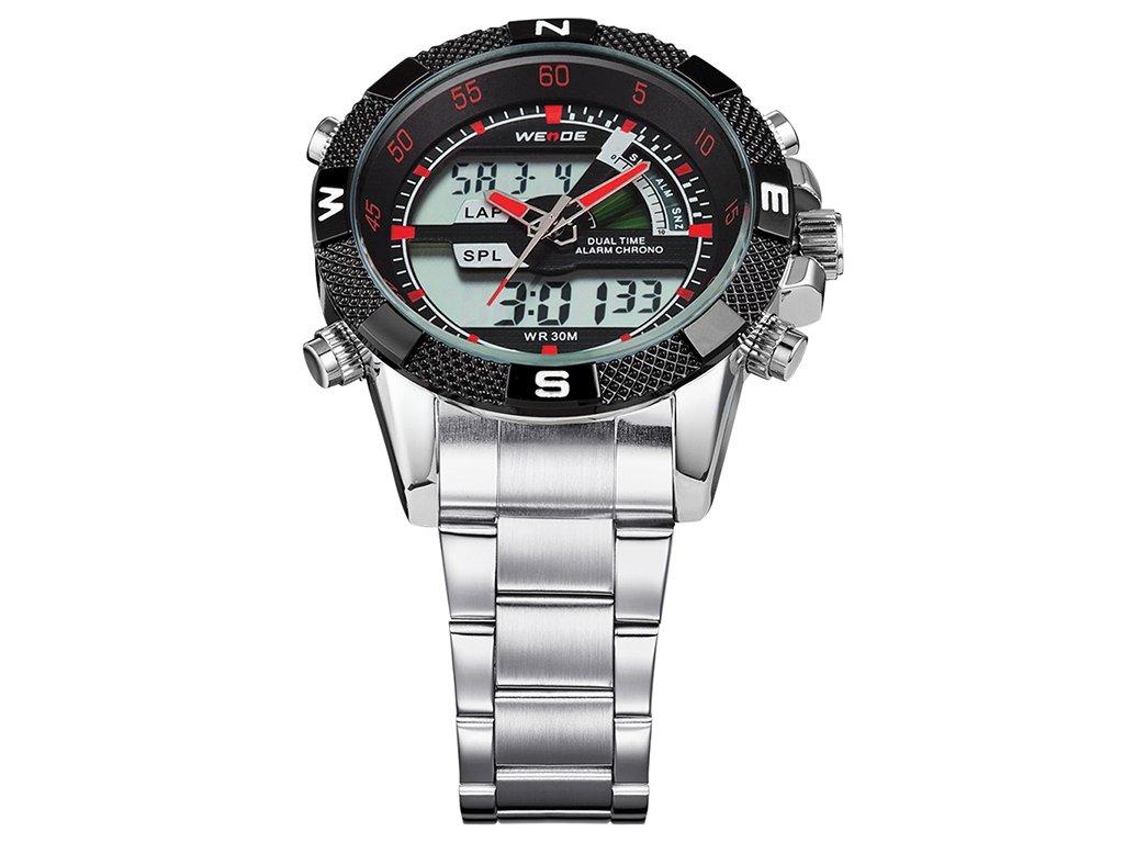 ... sportovní pánské hodinky weide s duálním časem velkým ciferníkem wh  1104 4c (1) ... b15c00859b7