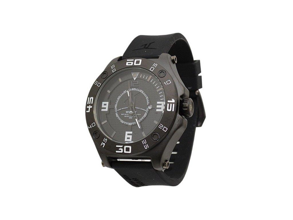 Akce. Pánské hodinky WEIDE 1502 černé + 100% skladem af6db81357