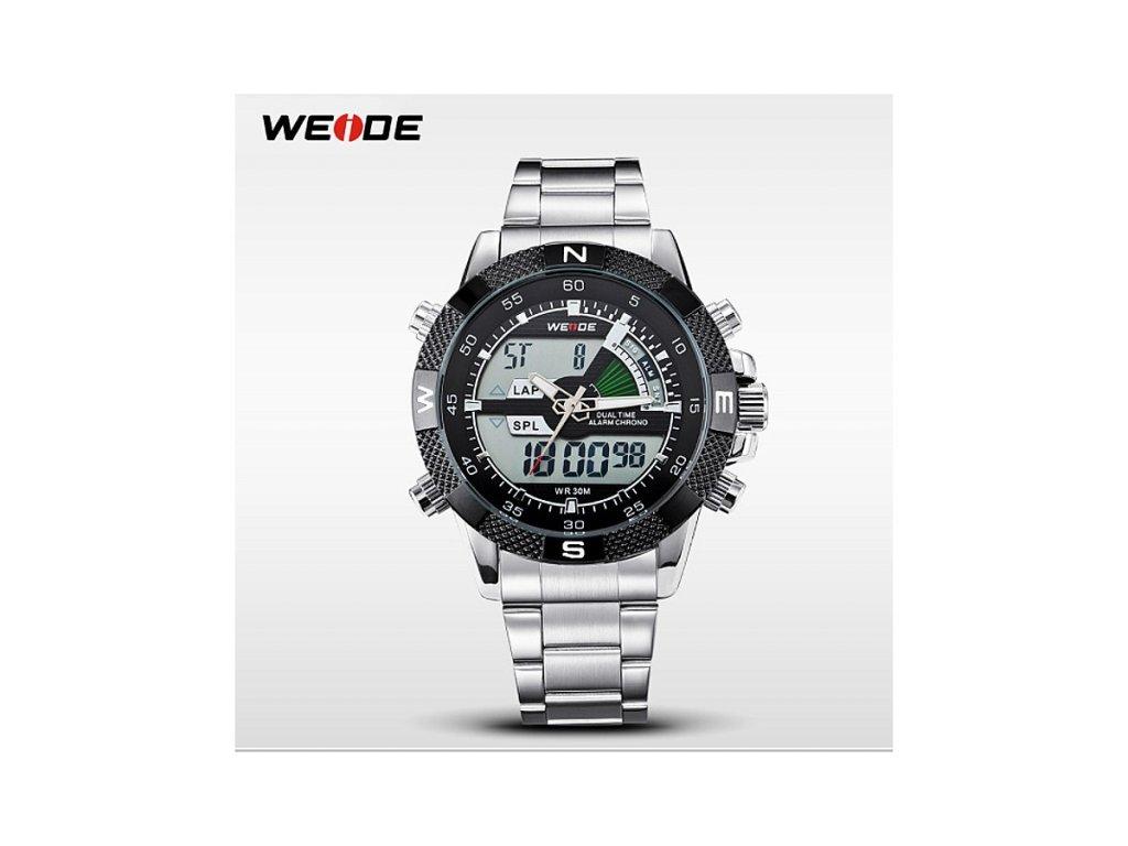 c7b7eebcc24 Pánské hodinky WEIDE 1104 CB + 100% skladem + doprava zdarma po ČR