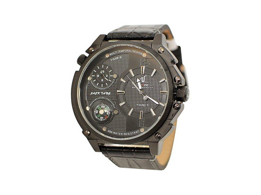 3e41e68e64e Pánské hodinky WEIDE 1507 černé + 100% skladem + doprava zdarma po ČR