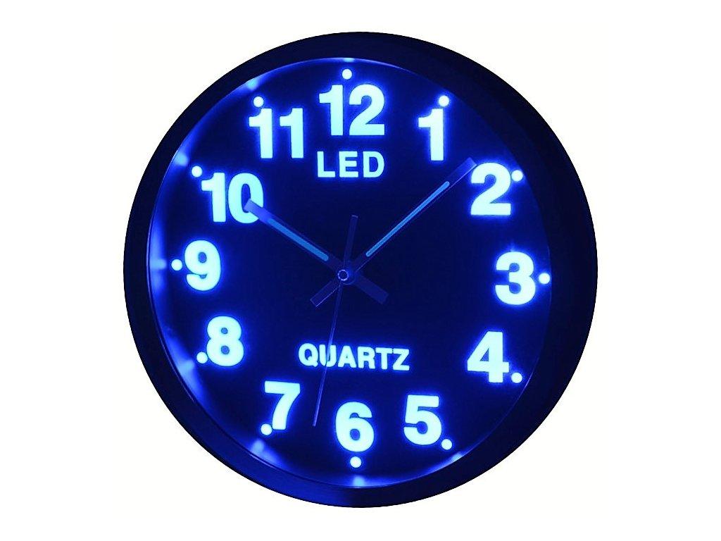 led hodiny modre new ve tme 83e8b865cb0