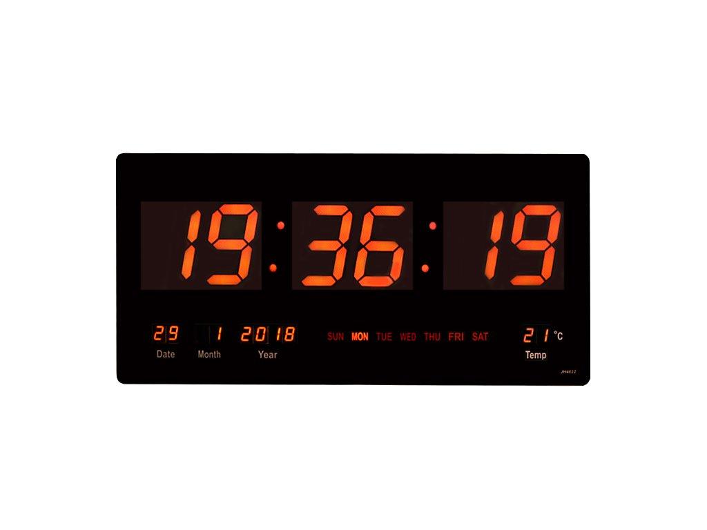 LED digitální nástěnné hodiny 3751  50a96807bdb
