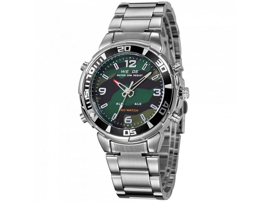 vojenské hodinky army maskované khaki Weide WH843 (6) 593236a553