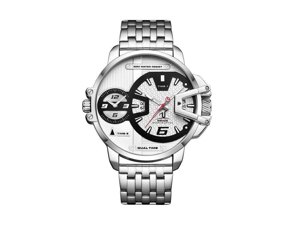 147788a88 Pánské náramkové hodinky WEIDE UV-1702-2C + 100% skladem + náramek ...